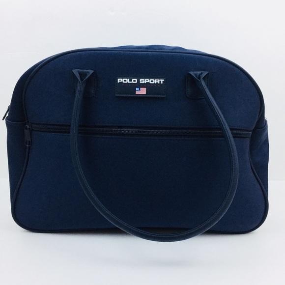 Polo Sport Ralph Lauren Blue Travel overnight Bag.  M 5b81a9acd8a2c7387a06dfd1 31193812d4565